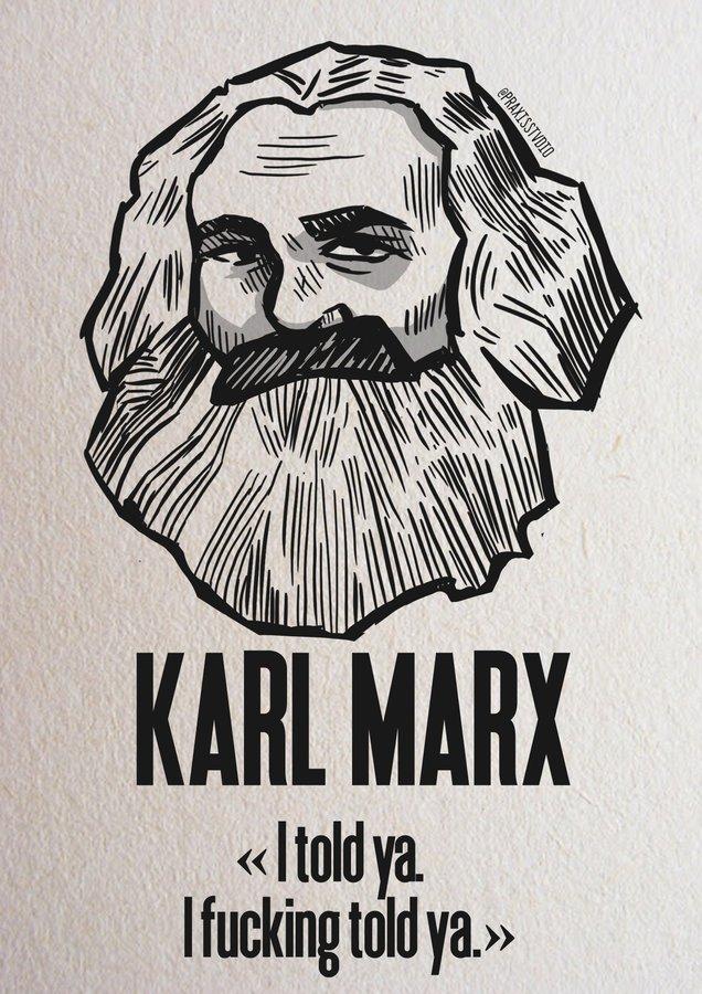Marx warned us